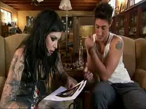 Kat Von D Tattoos a tribute to the city of Los Angeles on actor Eric Balfour