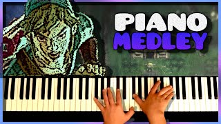 Zelda Skyward Sword [EXTENDED] Piano Medley
