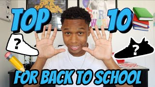 TOP 10 BACK TO SCHOOL SHOES 2019