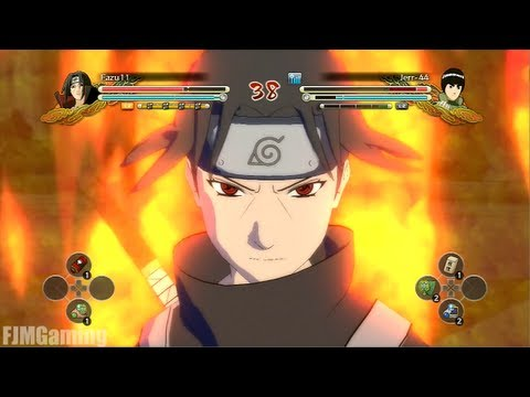Naruto Ultimate Ninja Storm 3 - Anbu Itachi DLC Gameplay [PS3]