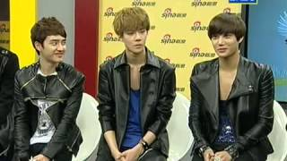 [RUS SUB] 120918 EXO-K @ Sina Live Chat