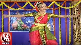 Navya Sri Kuchipudi Arangetram Held In Satya Sai Nigamagamam | Hyderabad