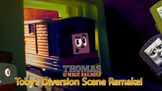 Thomas and the Magic Railroad | Toby's Diversion Remake! (Trackmaster, TOMY, and Plarail)