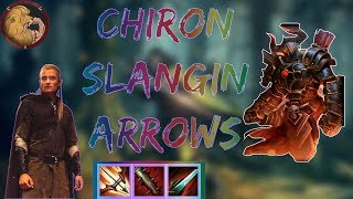 CHIRON MID: ABILITY BASED CHIRON WITH ATALANTAS| Ranked SMITE