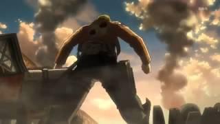 Shingeki no Kyojin Armored Titan Scene