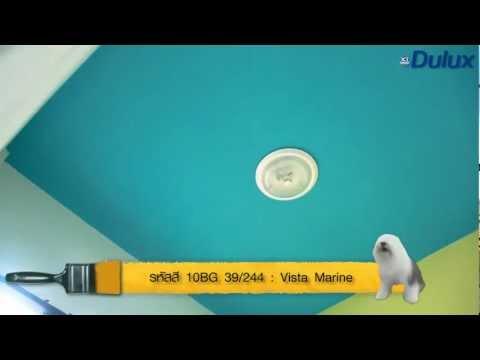 9:อุปกรณ์และวิธีทาสีฝ้าเพดาน