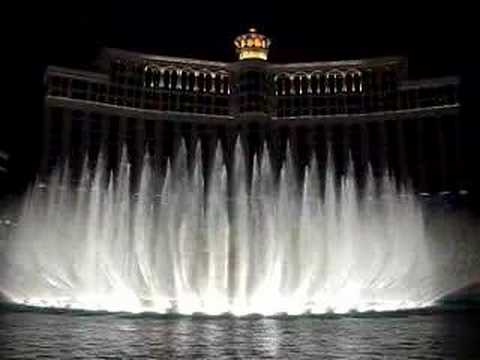 Bellagio Fountains/ Andrea Bocelli/ Time to Say Goodbye