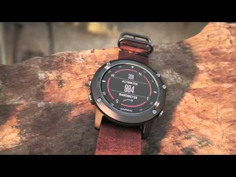 Garmin fenix 3 Sapphire Collection Make Powerful Strides with Premium Style