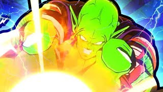 Dragon Ball FighterZ Gameplay: Piccolo Destroys Full Team