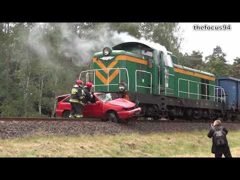 Wypadek Na Przejeździe Kolejowym!!