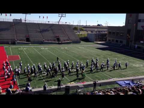 Sapulpa High School Marching 2013 OBA prelim