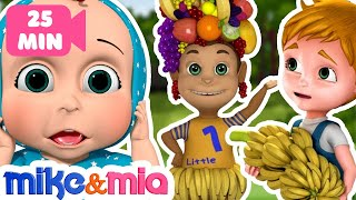 Apples and Bananas Song | Nursery Rhymes Collection and Baby Songs | Kids Songs by Mike and Mia