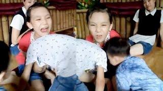 [Hài hước] Ba đứa trẻ nô đùa nghịch tung quán ❤ Trò chơi trẻ em ❤ Những đứa trẻ hài hước vui tính