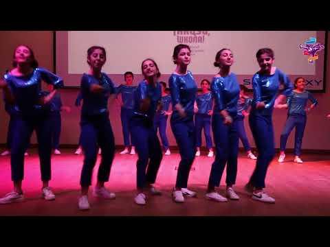 Финал конкурса Танцуй, школа!: выступление команды школы №31