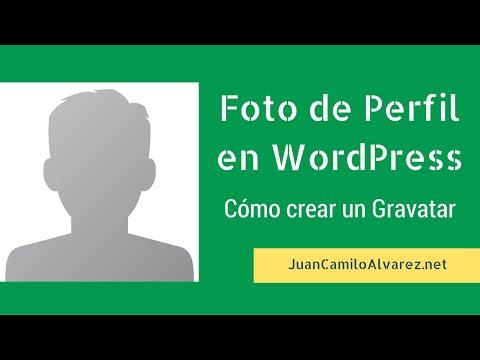 Foto de Perfil en WordPress: Cómo Crear un Gravatar