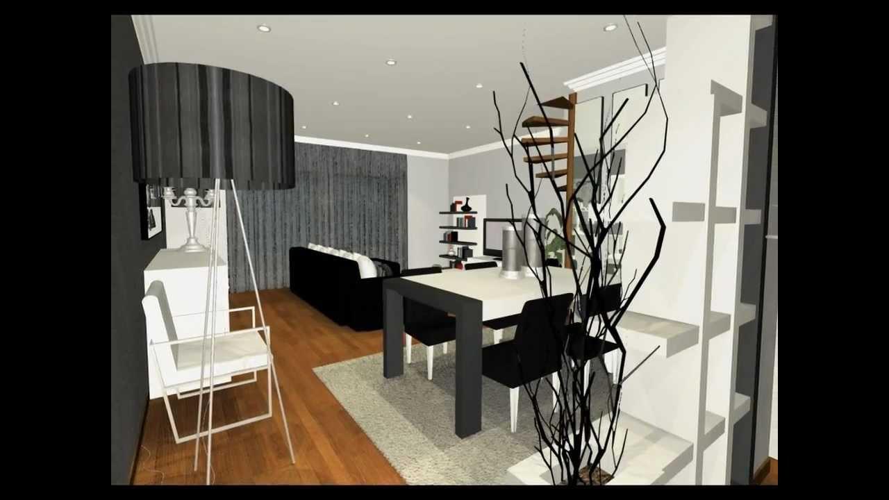decoracao de interiores sala apartamento:Projectos de Decoração de Interiores – Sala Apartamento – YouTube