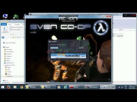 DESCARGAR Sven Coop 4.8 FULL (scxmp + OpenGL fix) + Half Life (+rcbot)