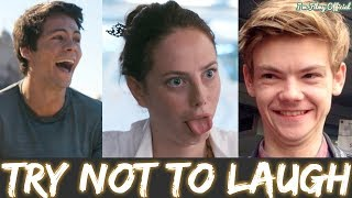 Maze Runner 3: The Death Cure Hilarious Bloopers and Gag Reel - Dylan O