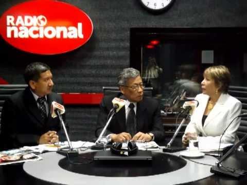 Ministra de Trabajo, Nancy Laos Cáceres en Radio Nacional