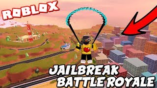 PLAYING ROBLOX JAILBREAK BATTLE ROYALE | HIDE AND SEEK | COME JOIN THE FUN|