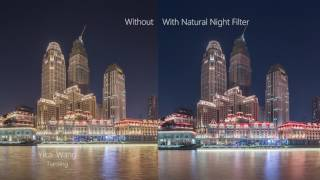 Nisi Filter Natural Night Comparison