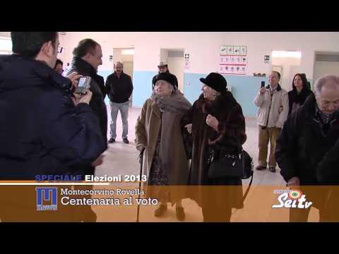 Centenaria al voto a Montecorvino Rovella
