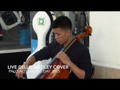 Hello Cello Live Medley @ Palo Alto World Music Day