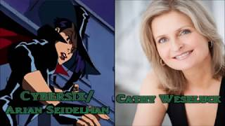 Characters And Voice Actors - Cybersix