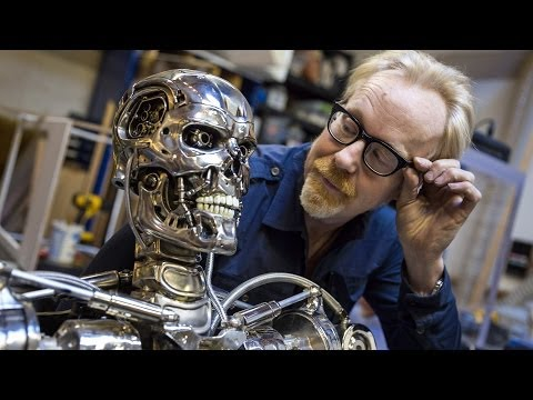Adam Savage's Terminator T-800 Endoskeleton