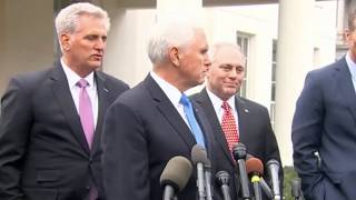 Mike Pence Press Conference After Meeting With President Trump & Democrats 1/9/19