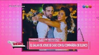 ¡El galán de Josué se casó con su compañera! - Cortá por Lozano
