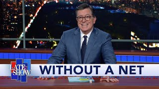 When Rehearsal Becomes The Show: Stephen Colbert's First-Ever No-Audience Late Show Monologue