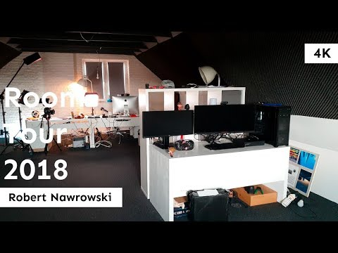 Room Tour 2018 | Robert Nawrowski