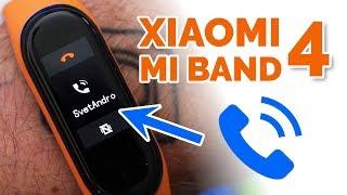 Jak zobrazit jméno volajícího a české znaky 👍 Xiaomi Mi Band 4