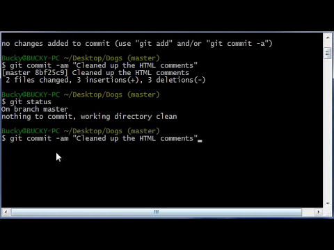 Git Tutorial - 13 - How to Commit Directly to the Repository