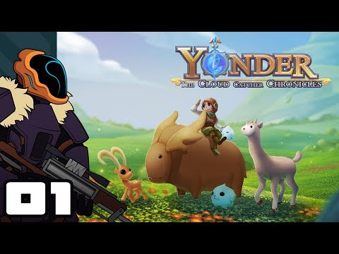 Let's Play Yonder: The Cloud Catcher Chronicles - PC Gameplay Part 1 - Breath of Stardew Valley