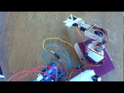 How to make a simple Arduino Insect Robot?