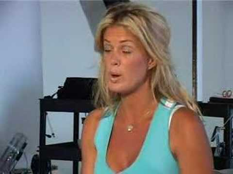 Rachel Hunter on Healthy Hearts Video