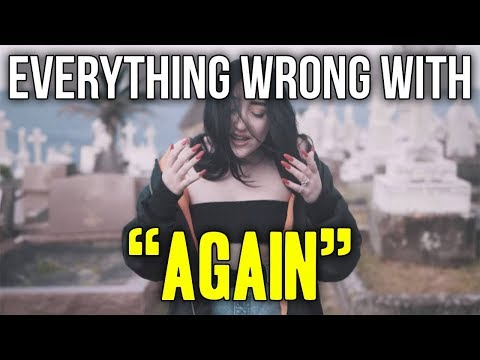 Everything Wrong With Noah Cyrus    quot Again  ft  XXXTENTACION  quot