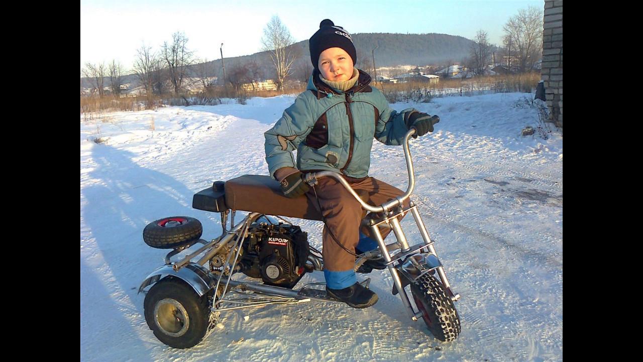 Сделать детский мотоцикл своими руками 641