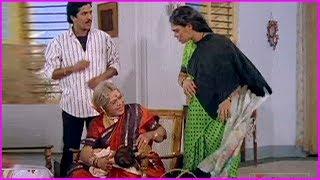 Bhanumathi And Silk Smitha Hilarious Comedy Scenes - Back 2 Back Funny Scenes