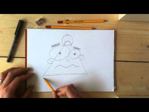 Cartoon Drawing University | Redraw Exercise 006 video