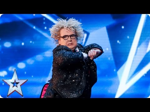 Preview: Introducing the weird and wonderful Niels Harder | Britain's Got Talent 2017