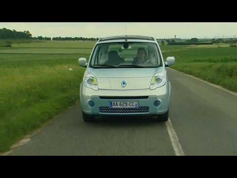 Renault Kangoo be bop Z.E. Electric Vehicle Driving