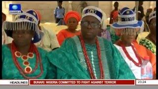 Metrofile: Glitz & Glamour As Rt. Hon. Sulaiman Lasun And Wife Become Chiefs