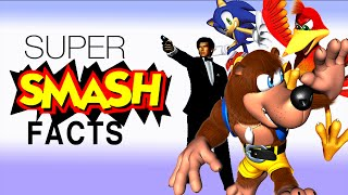 Characters ALMOST in Smash 64 and Melee! - Super Smash Facts!
