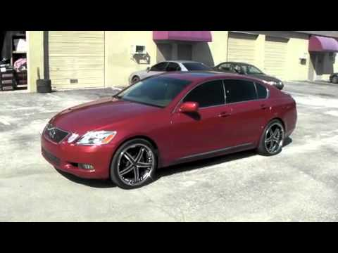 DUBSandTIRES.com 2006 Lexus GS-300 LS-460 Review 20 inch Supercharged Asanti Forgiato 2 piece Rims
