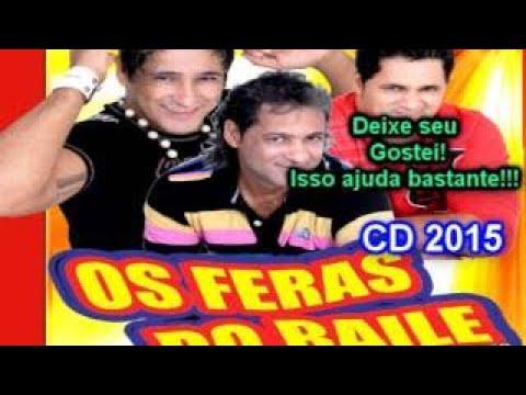 Os Feras do Baile CD 2015 Completo