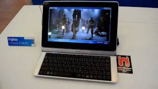 Fujitsu Lifebook TH40/D Hands On