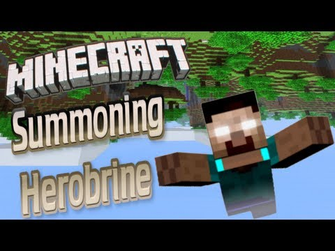 How to Summon Herobrine with Proof!! (Minecraft 1.4.7)